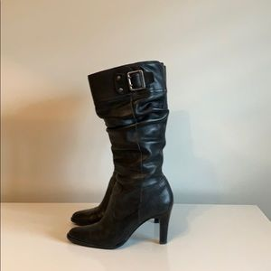 Tall slouchy boots